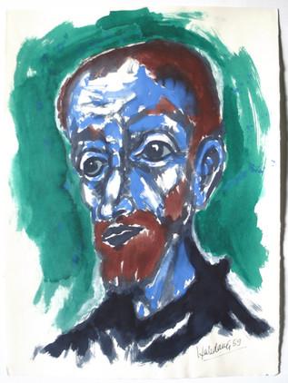 Don Quixote 1989 78 x 57 cm