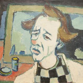 Clown 1951 Öl auf Leinwand