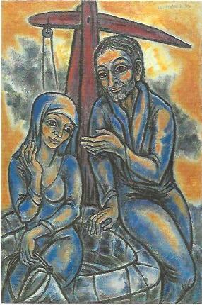 Gespräch am Brunnen, 1995