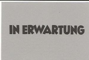 In Erwartung, Bildbetrachtung von Walter Habdank (Autor)