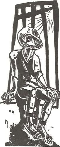 Paulus im Gefängnis, 1960