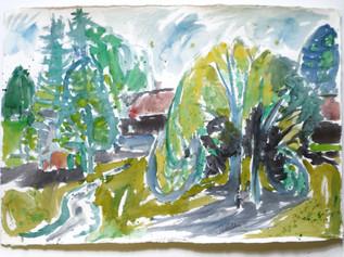 Weipertshausen, Oberbayern 1979 67 x 97 cm