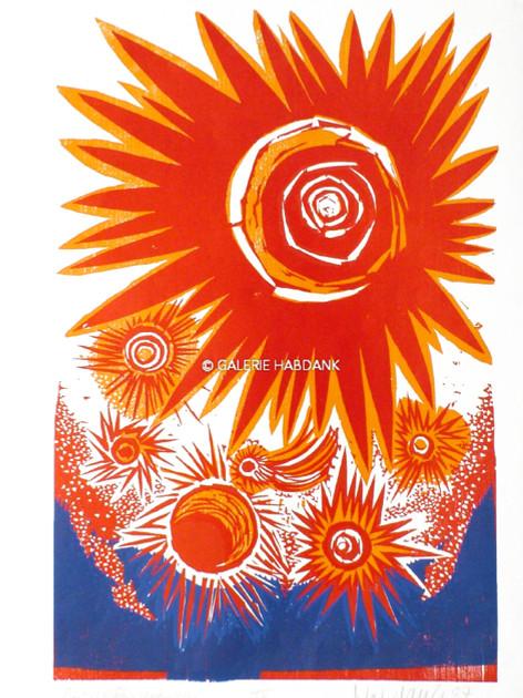 4. Schöpfungstag 1987  76 x 53 cm