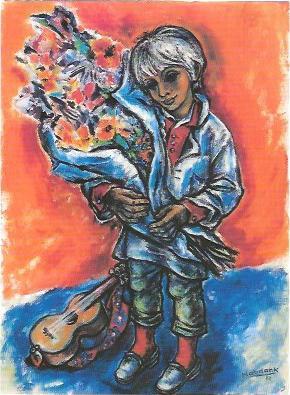 Grarulant, Acrylgemälde 1982