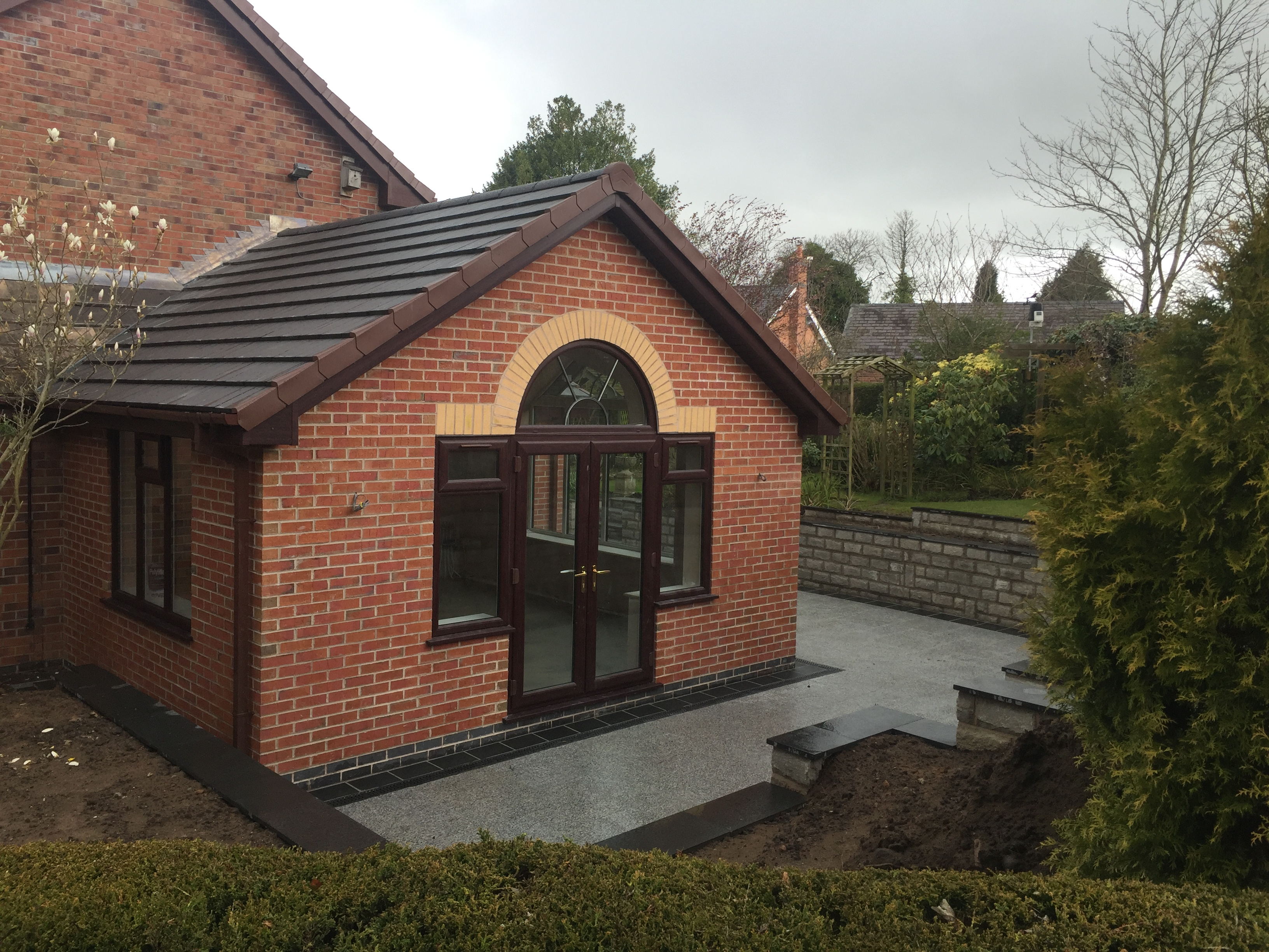 Orangery in Congleton Cheshire