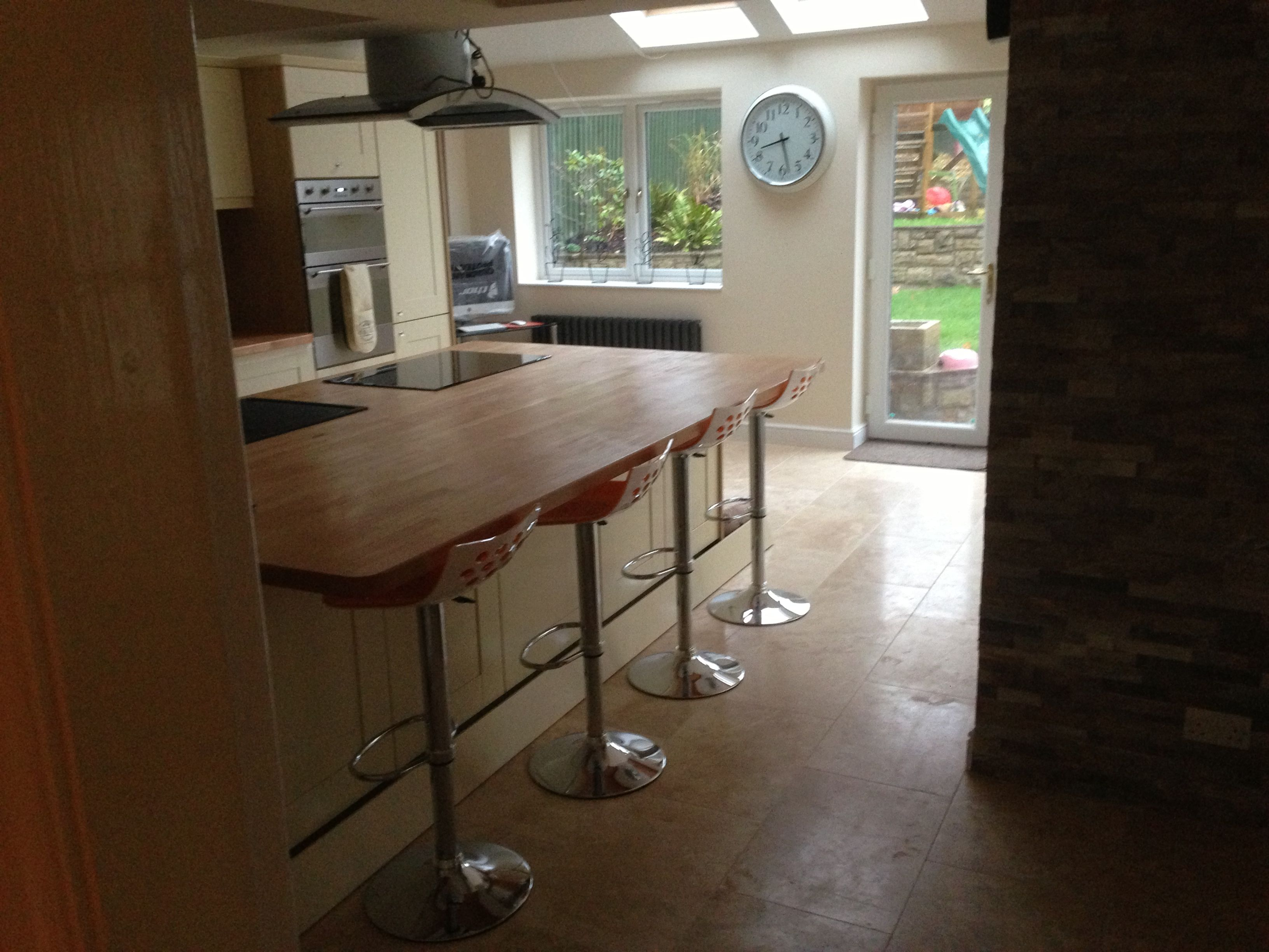 Knypersley new kitchen extension