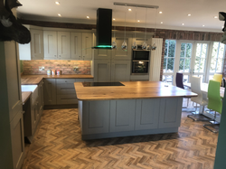New kitchen installation Knypersley