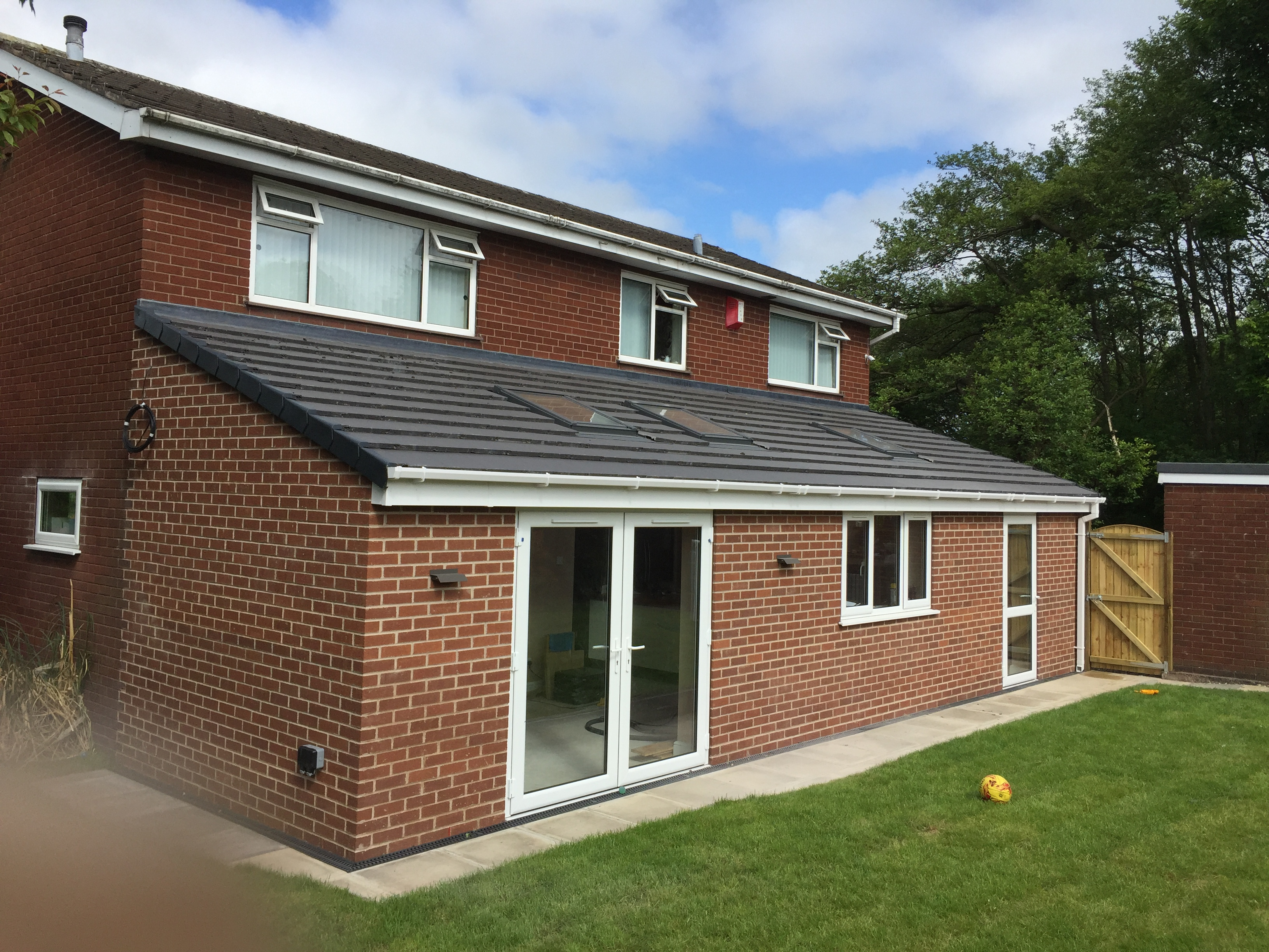 Single storey extension in Biddulph