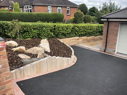 New build landscaping