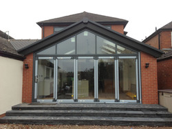 Ashbank glass extension