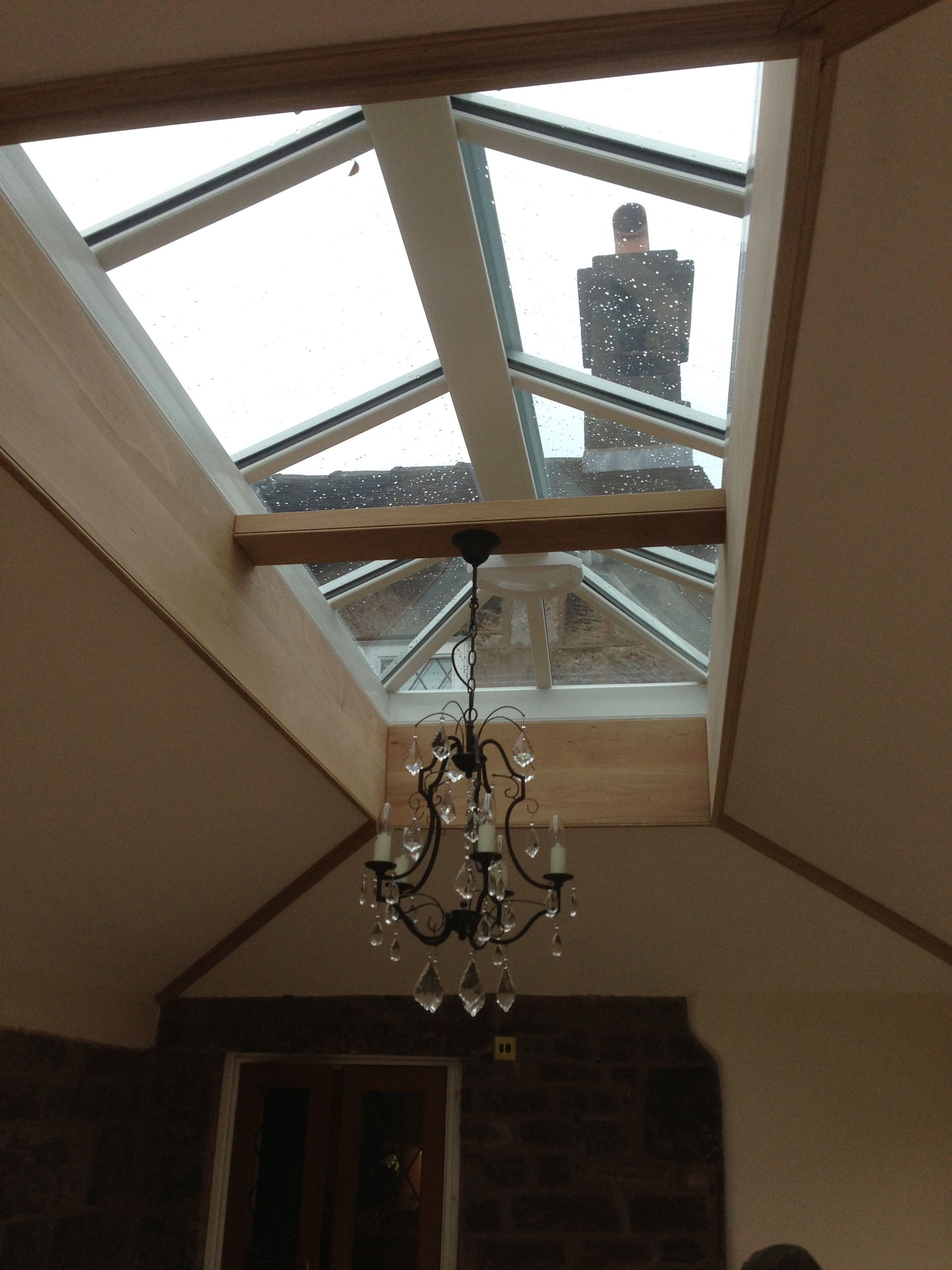 Oak orangery in hurst bank, Biddulph