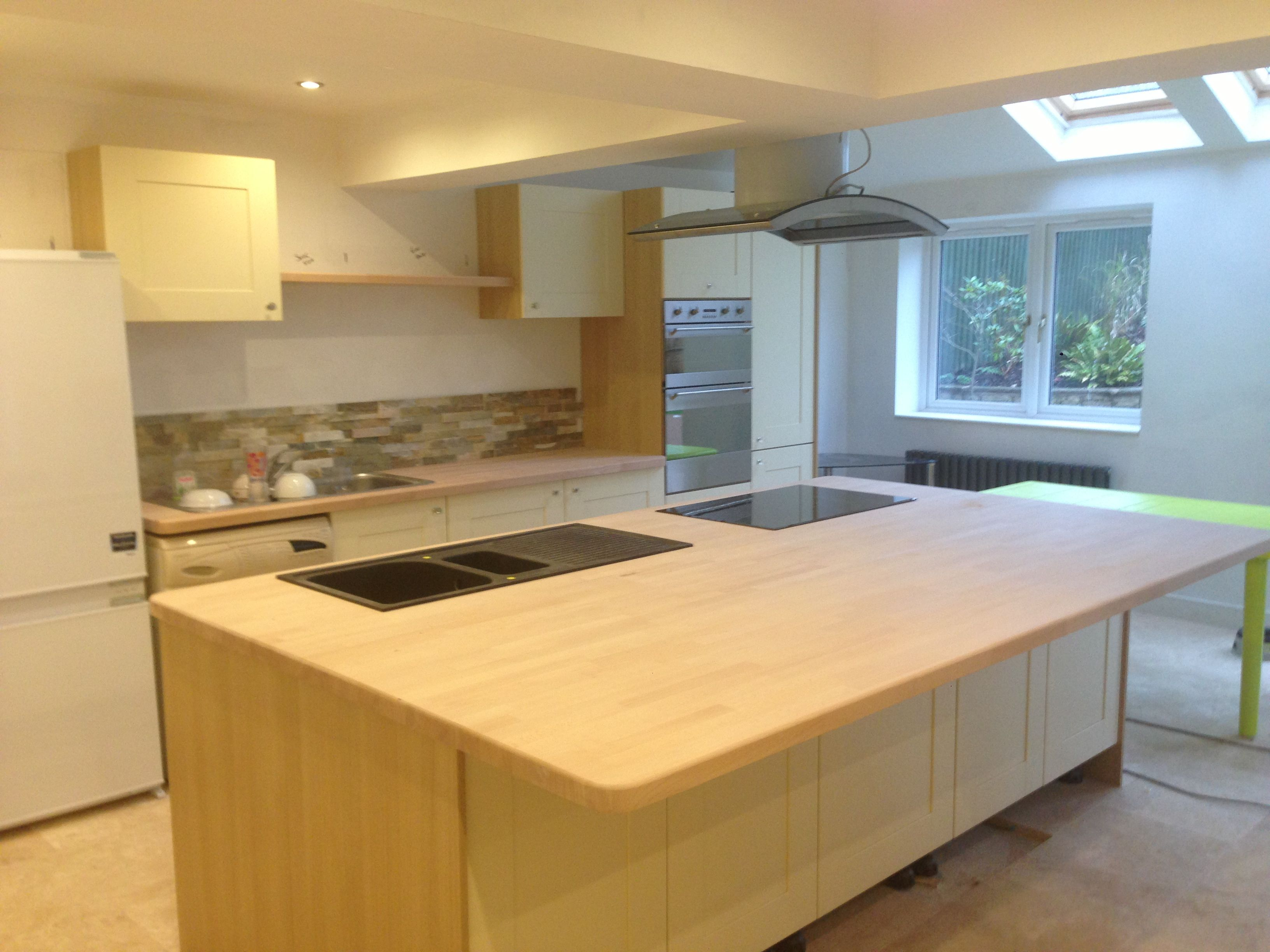 Kitchen refurb, Biddulph Builders