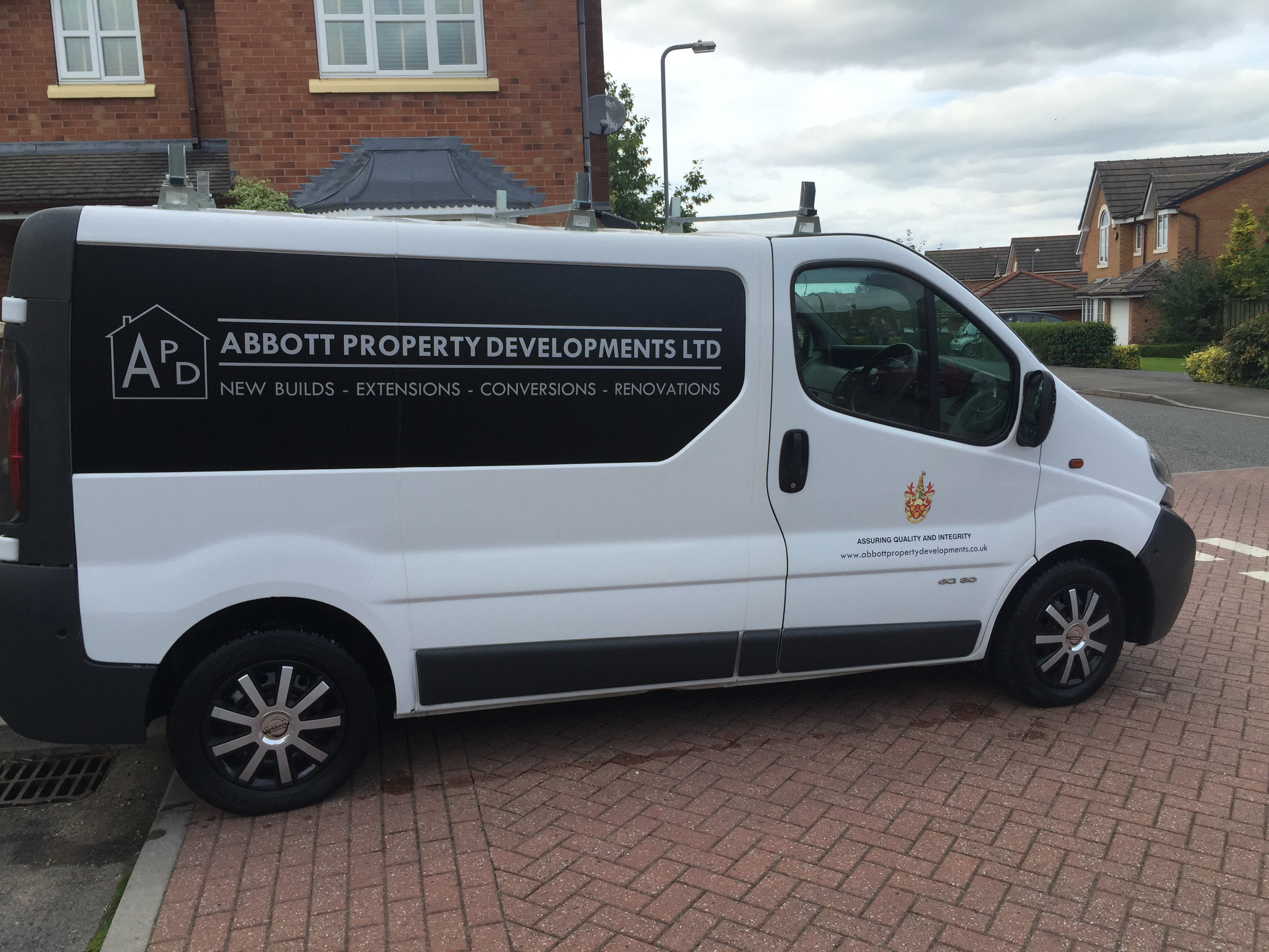 Abbott Property Developments Van