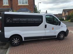 Abbott Property Developments Van