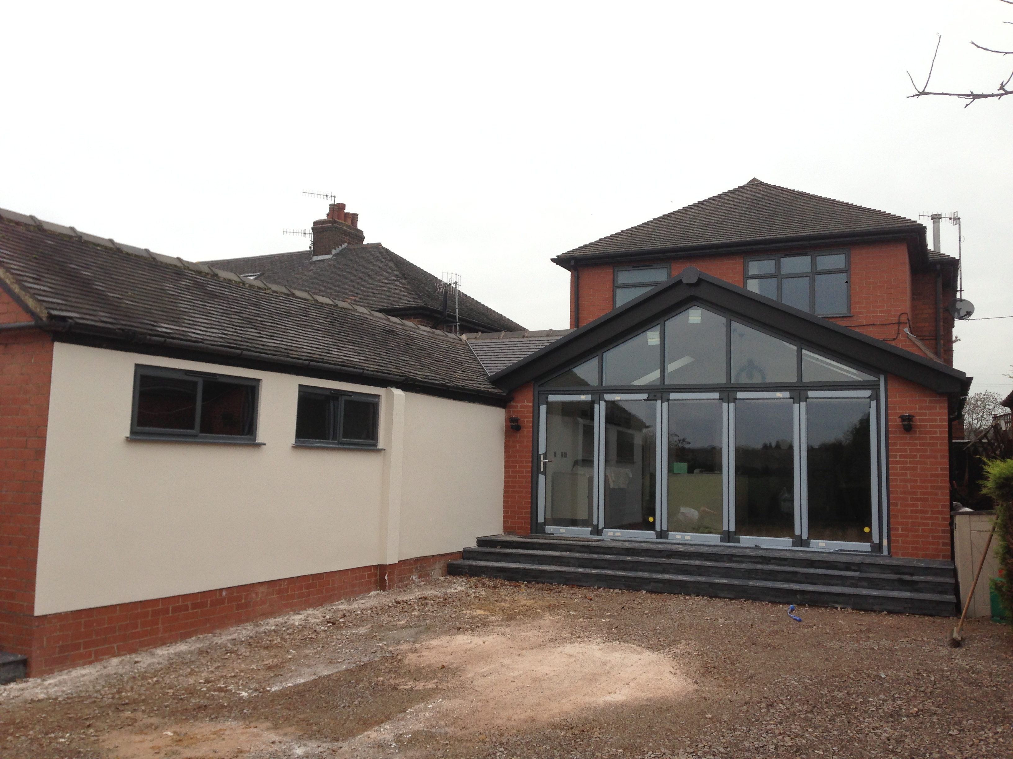 Glass Gable Extension,Stoke On Trent