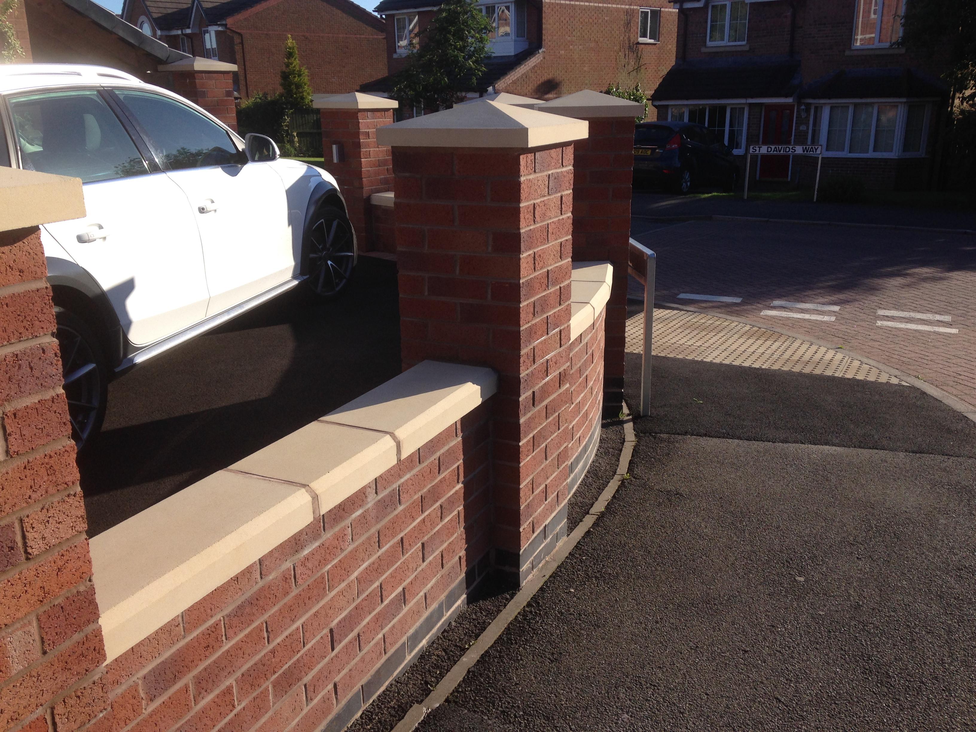 Garden wall, Stoke On Trent