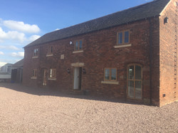 The Barn in Astbury Completed
