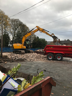 Clearing the Site for 4 Houses