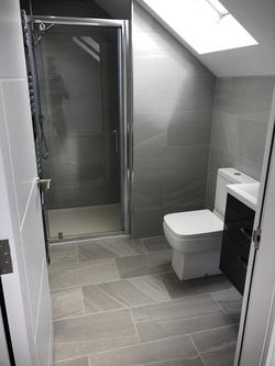 New build wet room
