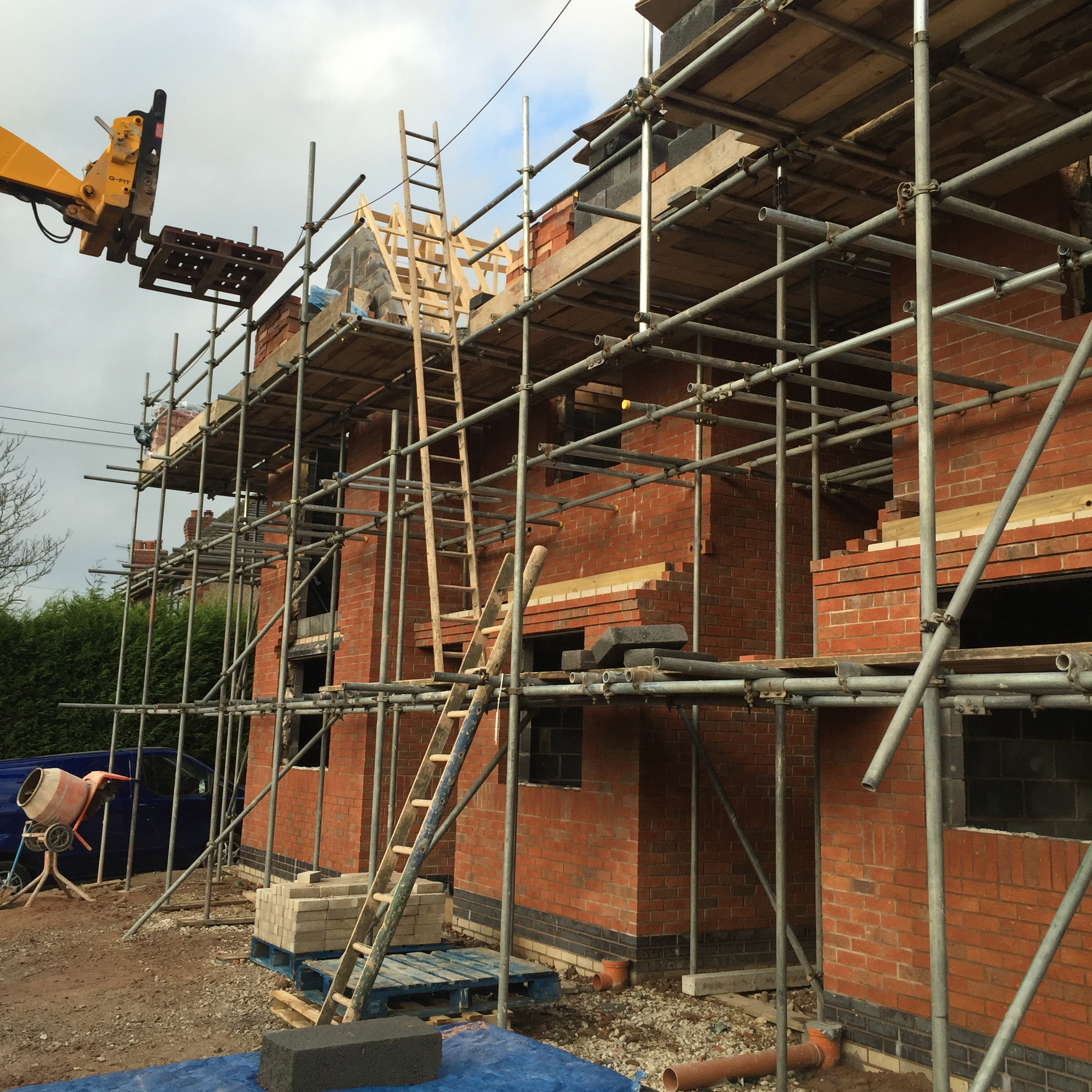 Brick New Build, Staffordshire 2016