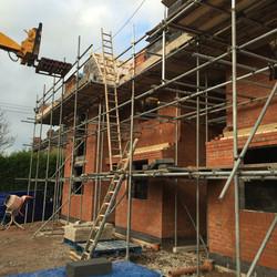 Brick New Build, Staffordshire 2016