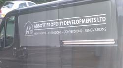 Abbott Property Company vehicle