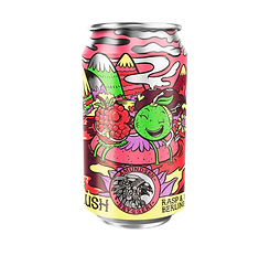 Lush Raspberry and Lime Berlinerweisse