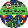 stardust galaxies fierce tap sign - keg.