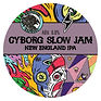 Cyborg Slow Jam Garage tap sign - keg-pa