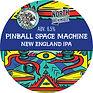 pinball space machine north brewing tap