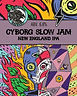 Cyborg Slow Jam Garage tap sign - cask (