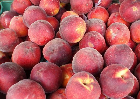 1 case of peaches