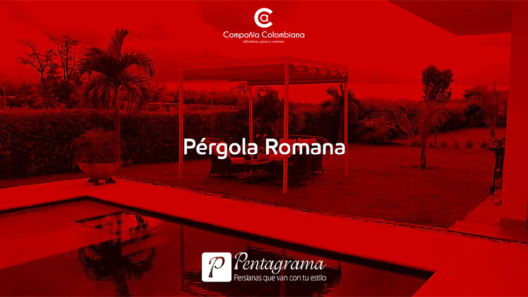 Pérgola Retráctil