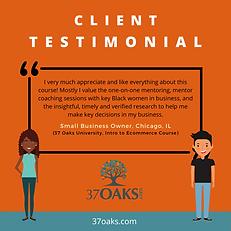 37 Oaks_ Client Testimonial Ecommerce Co