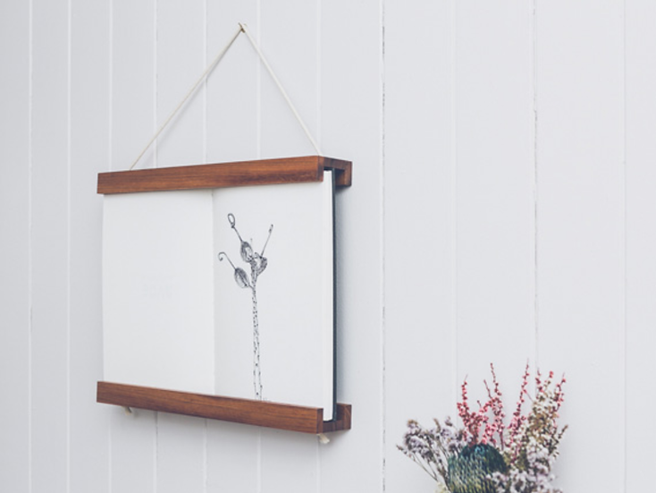 Book Frame (Brunette) by Corner Block Studio