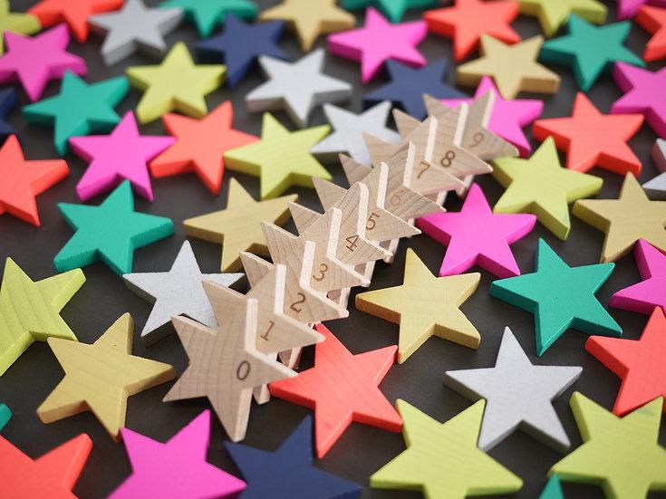 Tanabata (100 Wooden Stars) by KIKO+
