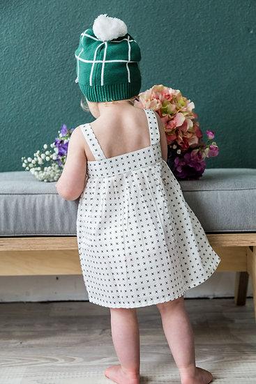 Miann and Co Organic Cotton Baby Dress Mini Cross Singapore