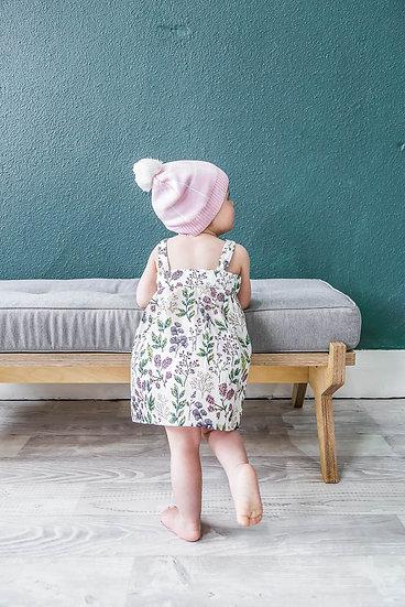 Miann and Co Organic Cotton Dress Botanic Singapore Baby Dress