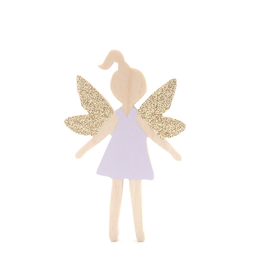 2 Wings Fairy Wall Hook by The Wall Collective