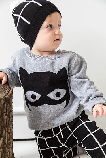 Miann and Co Super Hero Baby Jumper Cotton Singapore