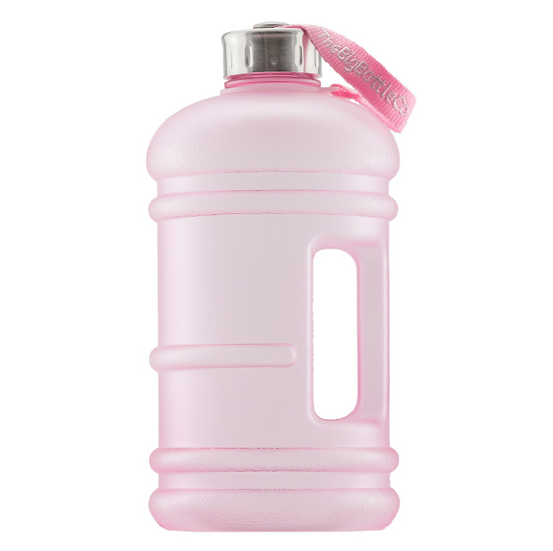 THE BIG BOTTLE CO, 2.2 LITRE, HYDRATE, WATER BOTTLE, BIG BOTTLE, BPS FREE, ROSE GOLD, INSTA WORTHY, WATER GOALS