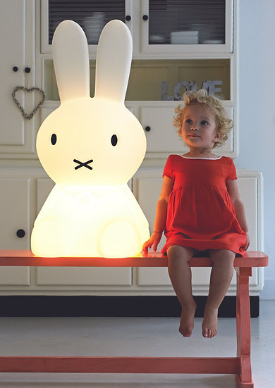 Mr Maria Miffy XL Bunny Lamp Singapore