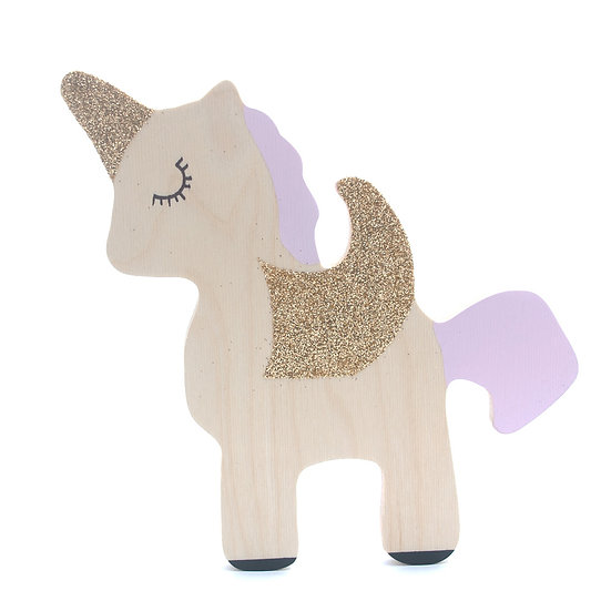 Unicorn Pink Wall Hook by The Wall Collective