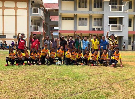 Kejohanan Bola Sepak MSSD TELUPID 2018