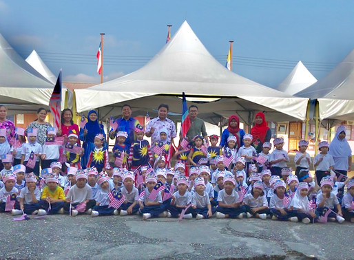 #Perarakan Kemerdekaan Anak-anak Pra Sekolah SK Pekan Telupid 2018