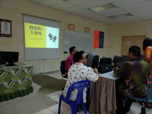 Bengkel Resepi ' E-RPH' SK Pekan Telupid 2018