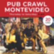 Pub Crawl Montevideo - Free Walking Tour Montevideo