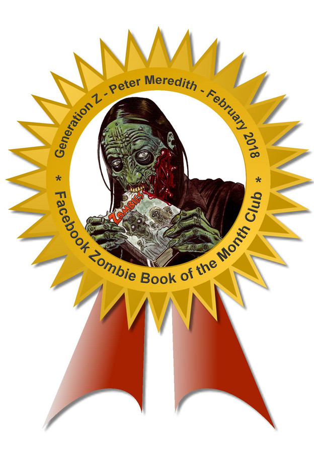 ZOMBIE BOOK OF THE MONTH!