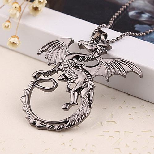 Dragon Pendant Necklace for Men & Women