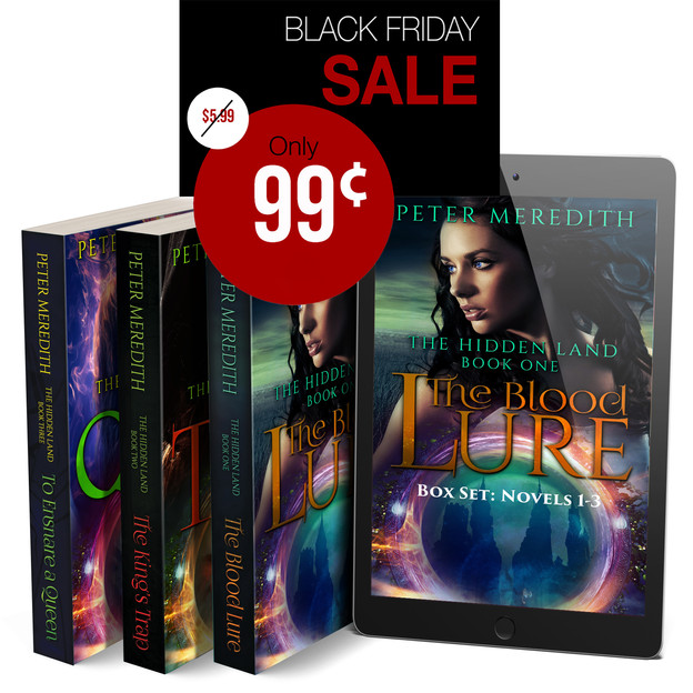 BLACK FRIDAY SALE STARTS NOW!             The Hidden Land Trilogy (Complete Boxed Set Series)
